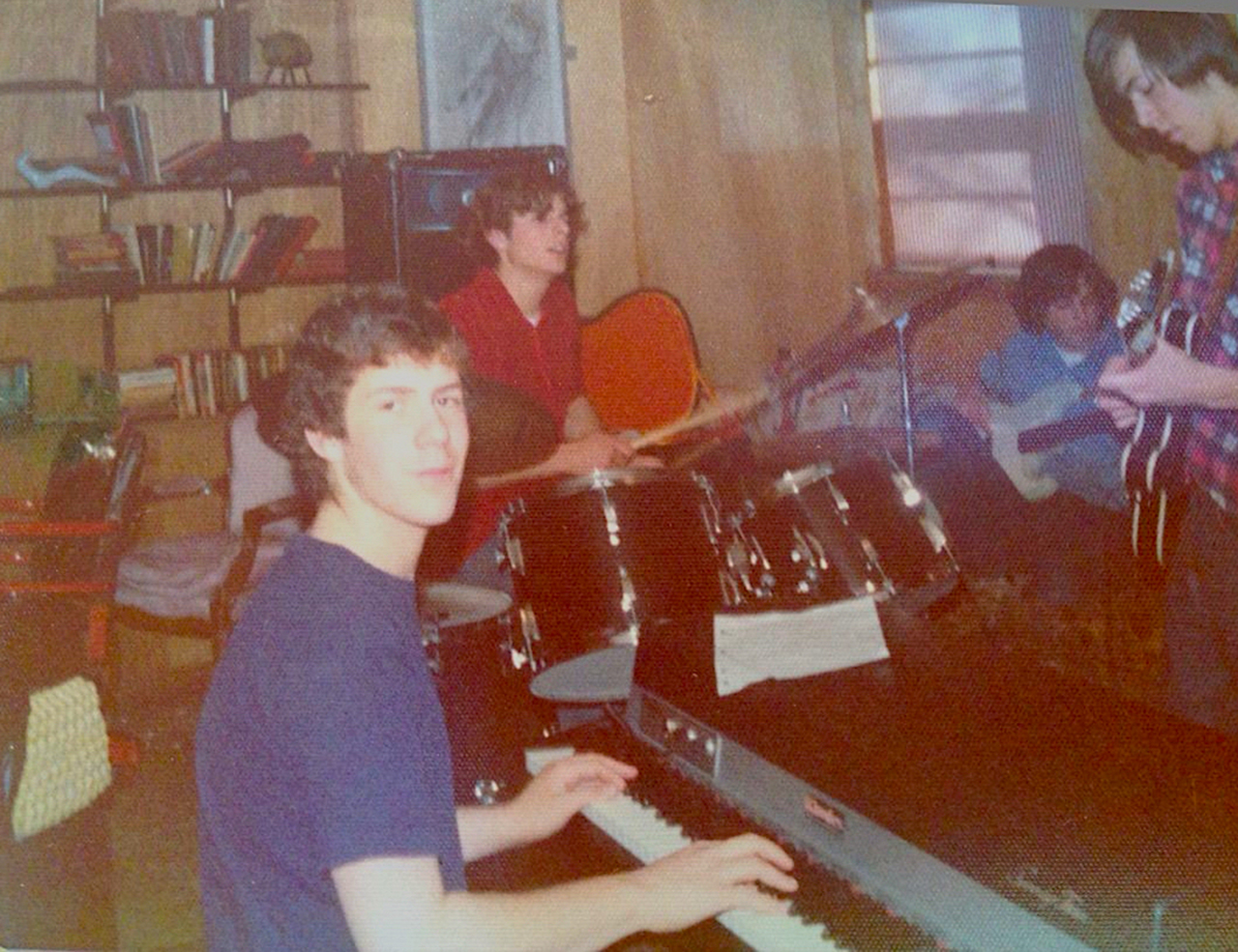 Edge, Larchmont rehearsal, 1973. Or maybe it was '74.